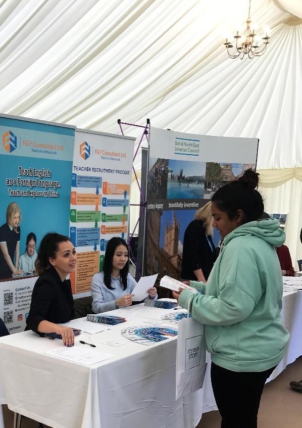 BathSpa University Careers Fair