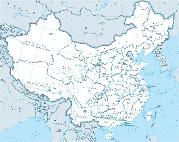 Administrative Map of China
