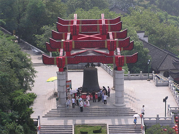 The peace bell in wuhan